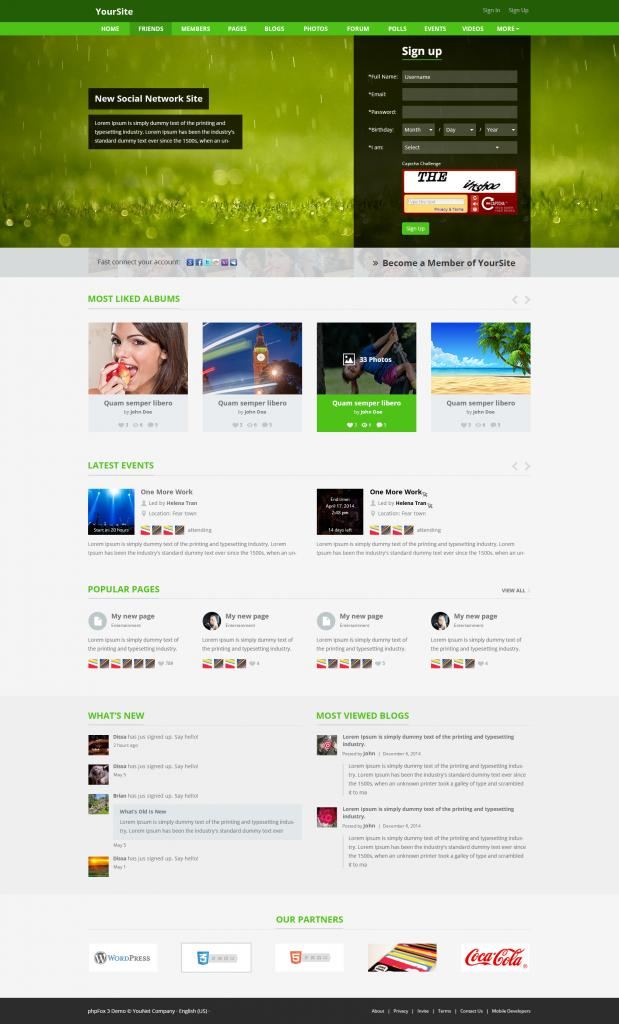 YouNet Responsive Clean Template