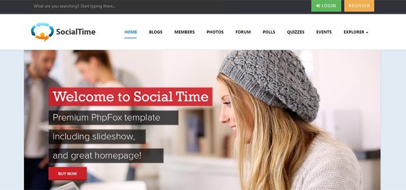 V6 updated! SocialTime Template