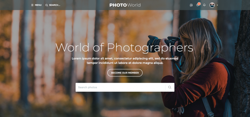 PhotoWorld Template [V4] - YouNetCo