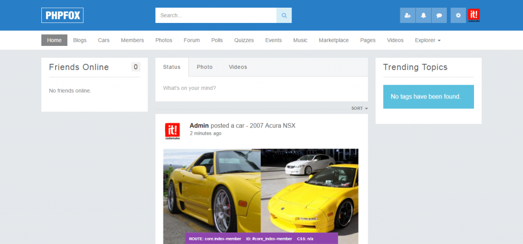 Auto Classifieds - CodeMake - Codemake It Company - phpFox