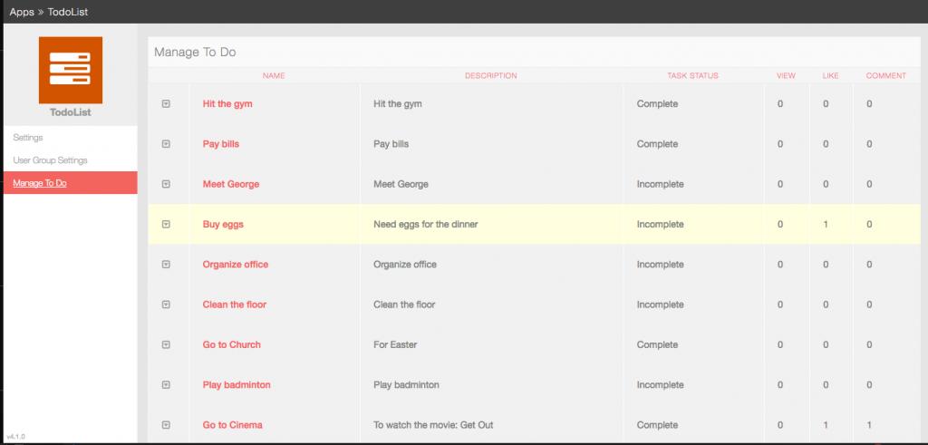 To Do List Sample app phpFox phpFox – Sample to Do List