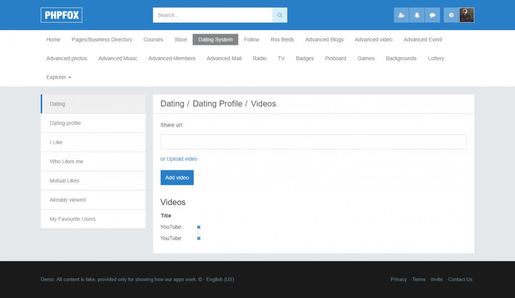 PHPFox dating moduuli online dating keskuudessa opiskelijoiden
